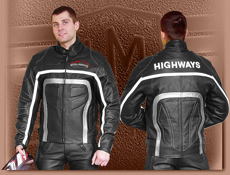 Motorbike Leather for Men