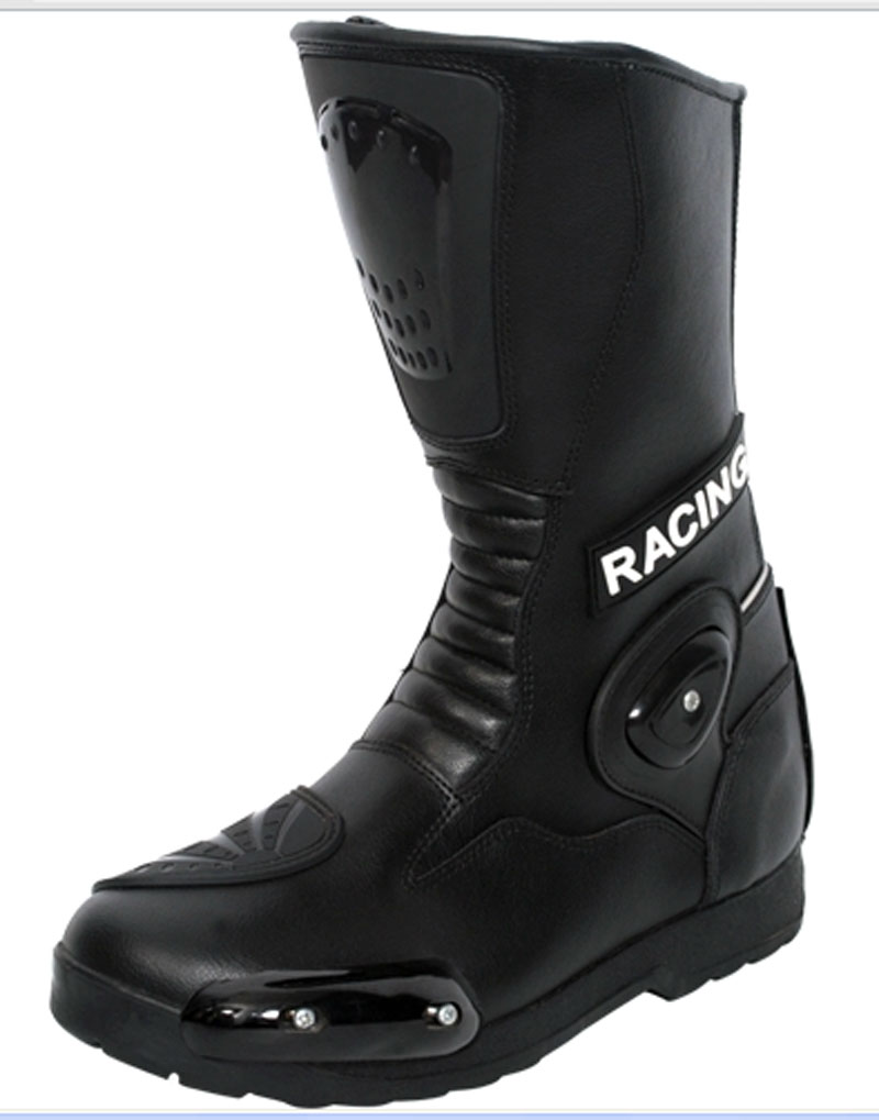 Motorbike Leather Boots