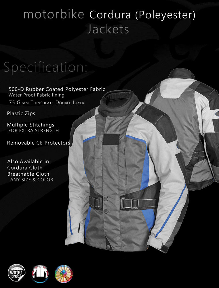 Textile Cordura Jacket Men